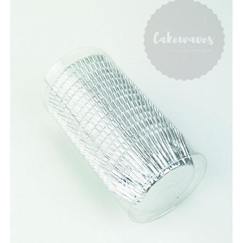 Silver Foil Cupcake Case BULK 250pcs