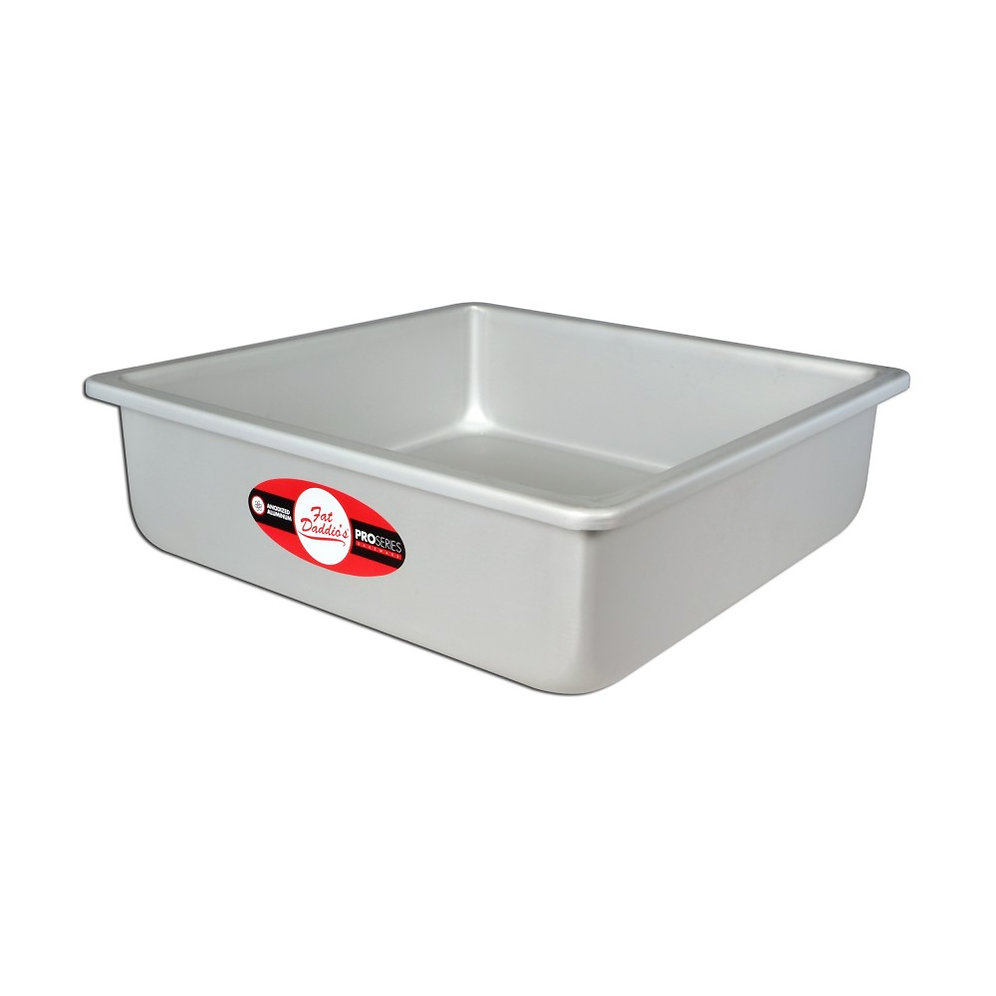 Fat Daddios Square Cake Pan 10 Inch