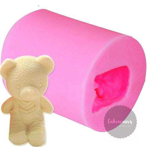 3D Teddy Bear Boy Silicone Moluld