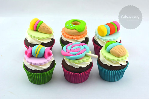 Candyland Cupcake Decorating Class for KIDS - SCHOOL HOLIDAY