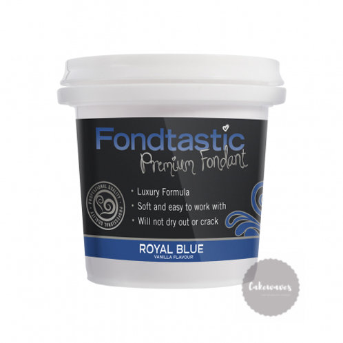 Fondtastic Fondant Royal Blue - 226g