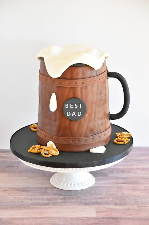 Father's Day Beer Mug Cake Class