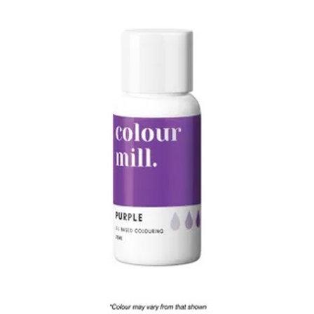 Colour Mill Oil Based Food Colour 20ml - Purple