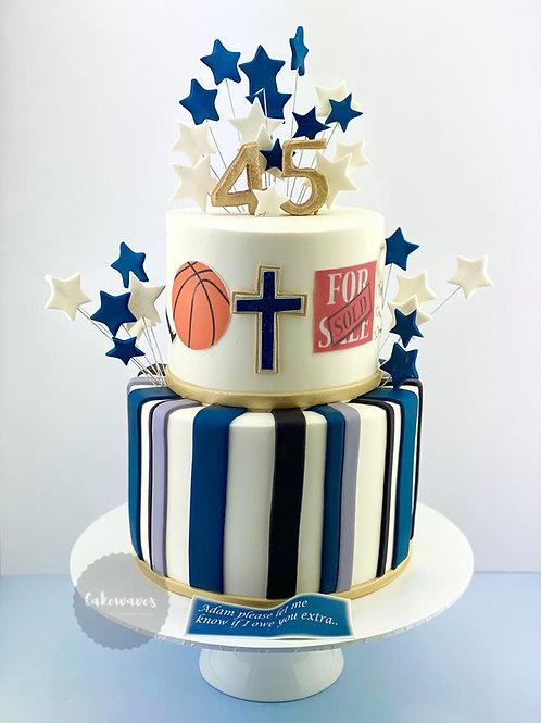 Shooting Stars Special Birthday Cake
