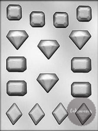 Jewels and Gems 16 Cavity Chocolate Mould