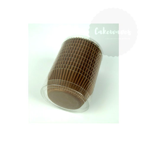 Brown Cupcake Case BULK 250pcs