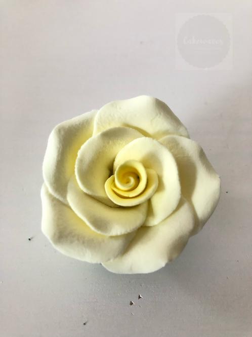 Edible Rose - Yellow 5cm