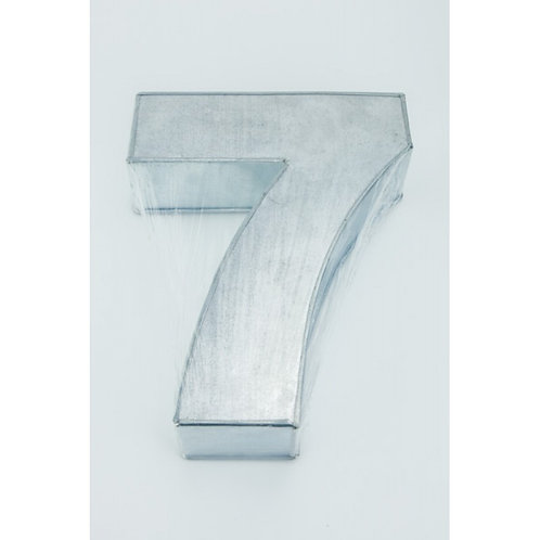 NUMBER SEVEN - 7 - 10 Inch CAKE TIN - PAN - HIRE