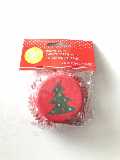 Christmas Tree Cupcake Cases Bottom