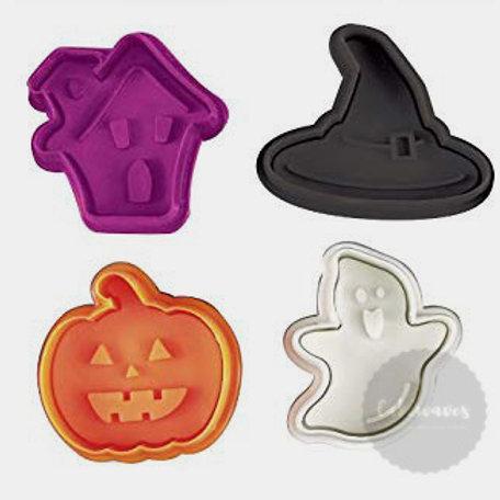 Halloween Plunger Cutter 4pc