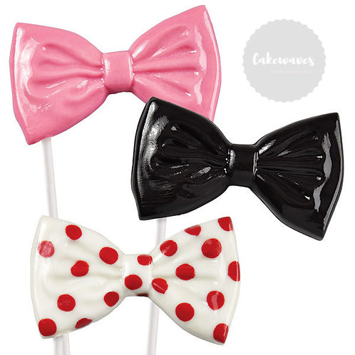 Bow Candy Lollipop Mould