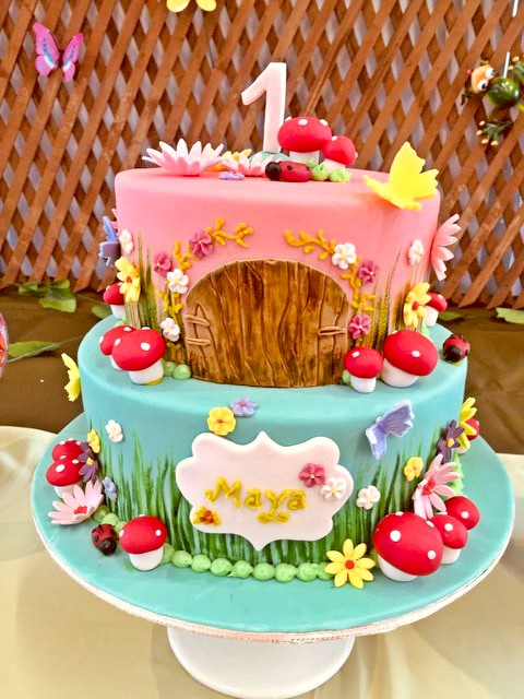 Enhanced garden cake