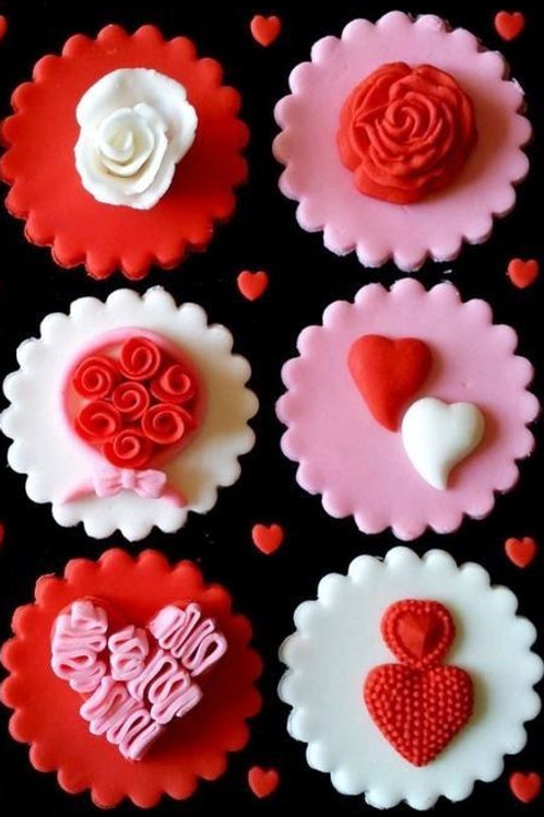 Valentines Day Cupcake Decorating Class ADULTS 9-Feb-2019