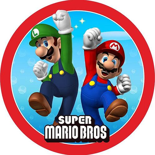 Super Mario Bros. - Round 8 Inch