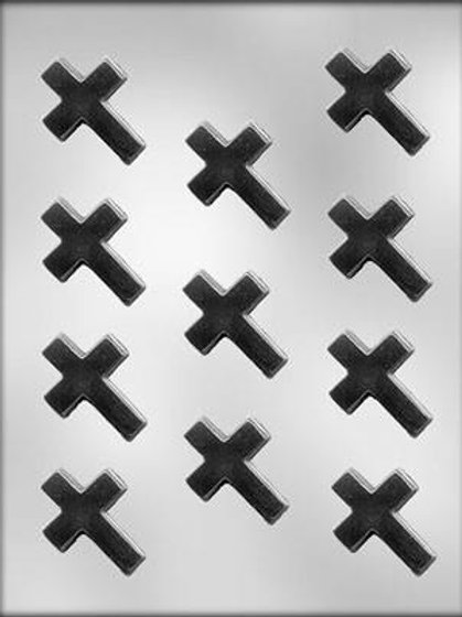 Cross 11 Cavity Chocolate Mould