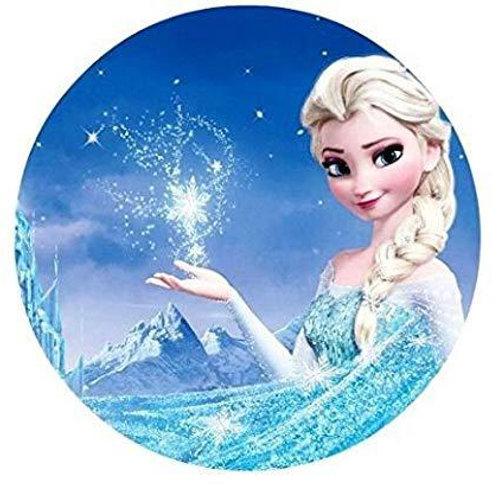 Frozen Elsa - Round