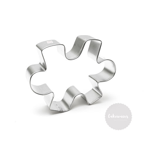 """PUZZLE PIECE 4"""" Stainless Steel Cookie Cutter"""