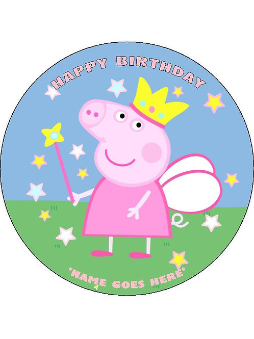Princess Peppa - Round
