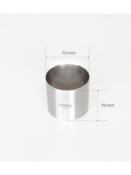 Food Stacker / Ring - 75mm Round
