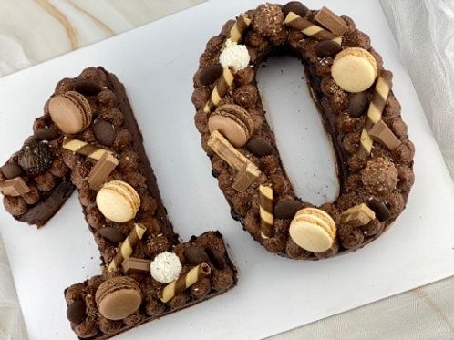 Double Digit Number Cake - Small