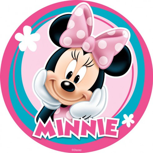 Minnie Mouse - Round