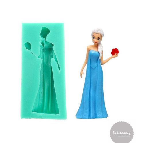 3D Frozen Elsa Silicone Mould