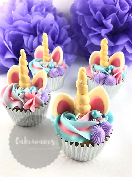 Unicorn Cupcake Cake Class