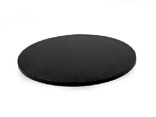 Black Drum MDF Cake Board - 14 inch