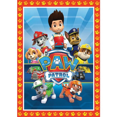 Paw Patrol Group - A4