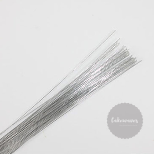 Flower Wire 20 Gauge - Silver