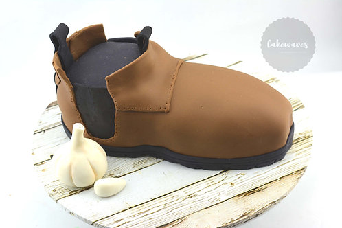 Blundstone Boot Birthday Cake
