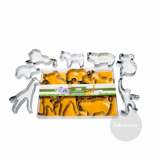 Zoo 7pc Stainless Steel Cookie Cutter