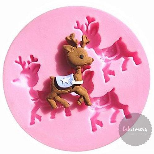Baby Rein Deer Multi Cavity Silicone Moluld