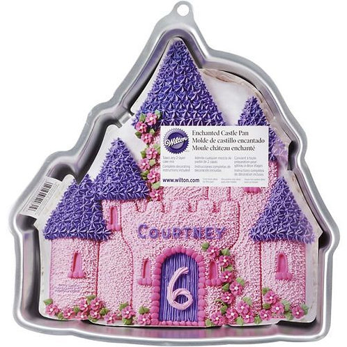 Enchanted Castle Cakepan Wilton front view