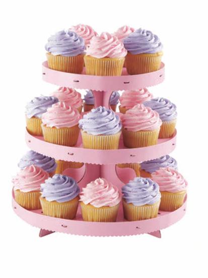 Pink Cupcake Stand