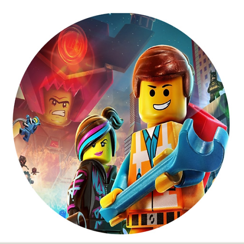Lego Movie - Round