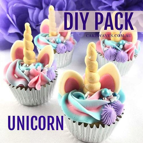DIY Cupcake Activity Pack - Unicorn