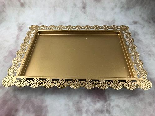 Gold Tray  - Hire