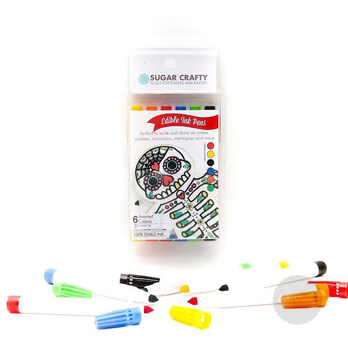 Edible Ink Markers 6 colours SET1 - by Sugar Crafty