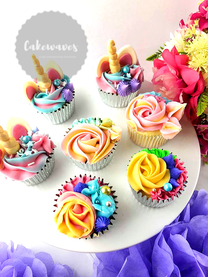 Multi themed Cupcakes 2
