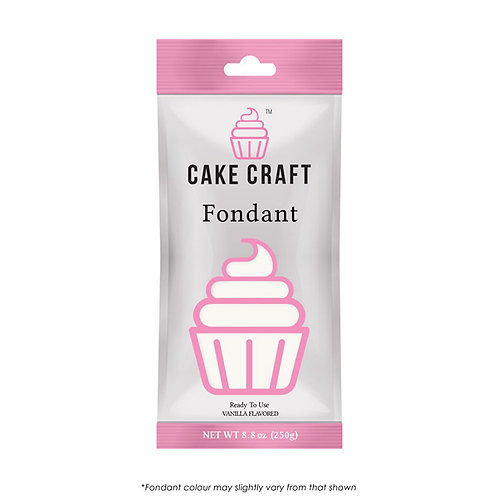Cake Craft Fondant - White 250g