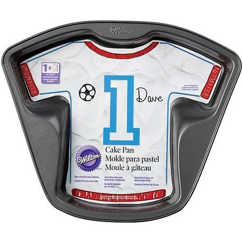 Jersey or T-Shirt Cakepan Wilton - HIRE ONLY