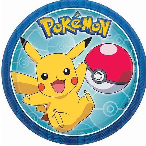 Pokemon Edible Image - Round