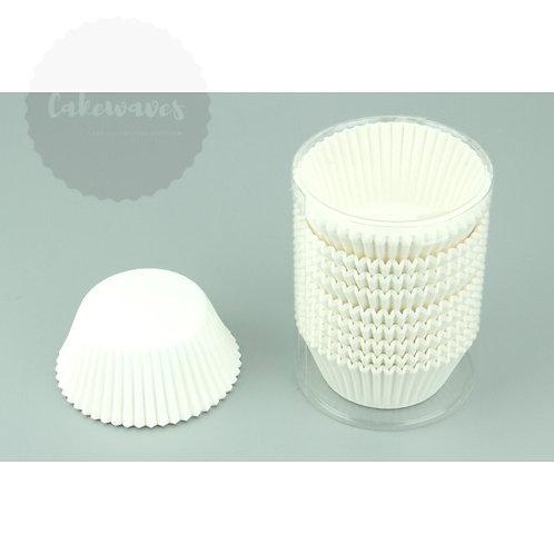 White Standard Cupcake Case BULK 500pc
