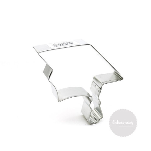 "GRADUATION CAP 4.5"" Stainless Steel Cookie Cutter"