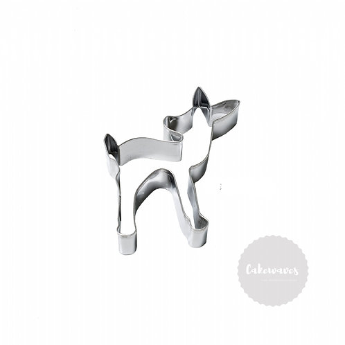 Deer / Fawn Stainless Steel Cookie Cutter