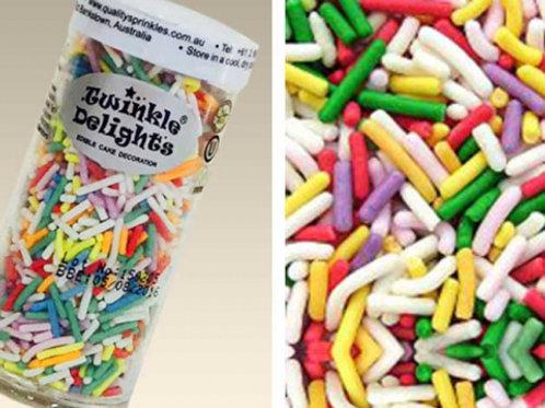 Quality Sprinkles - Natural Rainbow 75g