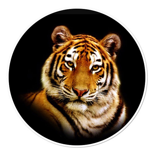 Tiger Face - Round