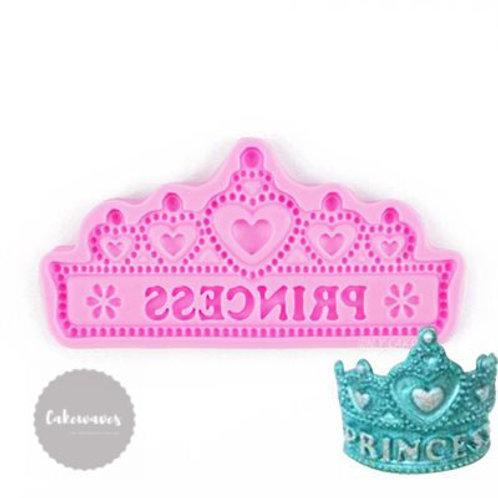 Princess Crown Silicone Mould