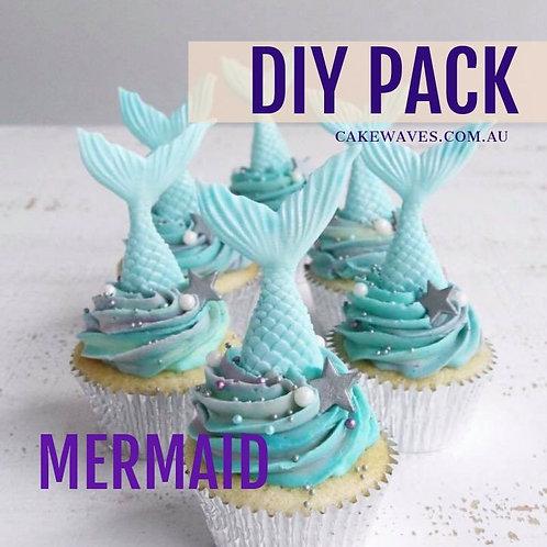 DIY Cupcake Activity Pack - Mermaid